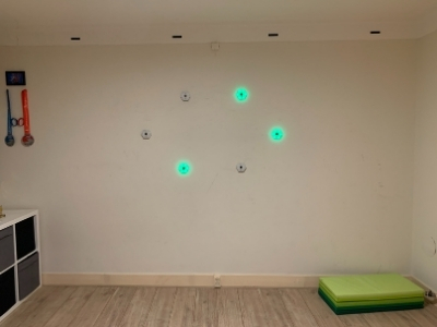 reactie-training-lampjes