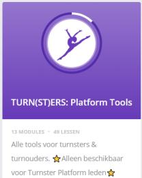 Online turnwinkel voor turnsters