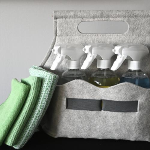 eenvoudig schoonmaken - 6 items vierkant