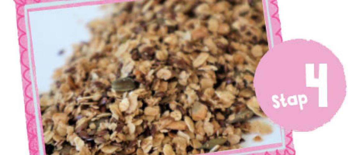Granola I Recept vanaf stap 4