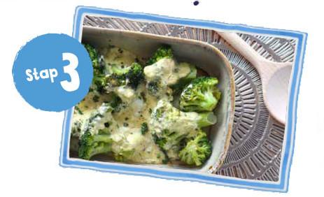 Ovenschaal met broccoli I Recept vanaf stap 3