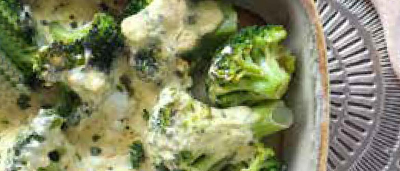 Ovenschaal met broccoli