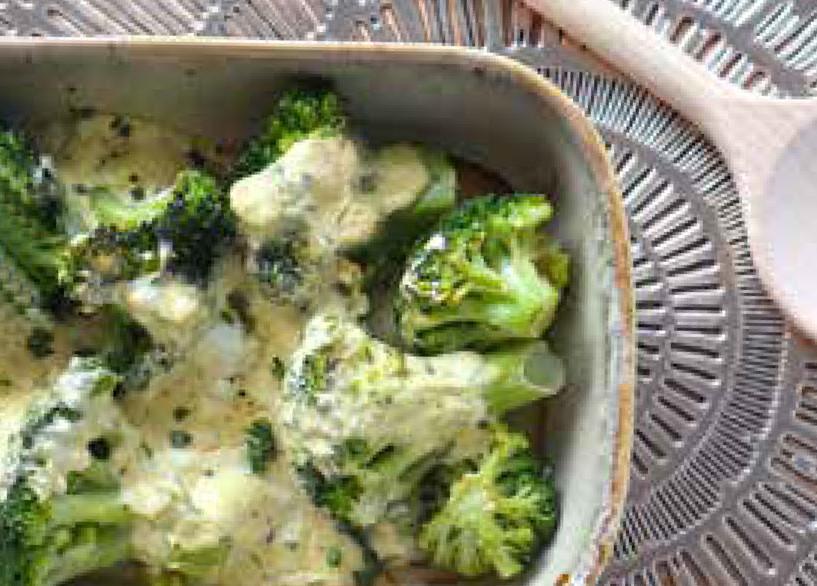 Ovenschaal met broccoli van het 1 op 1 dieet