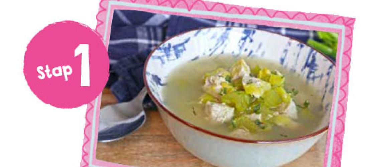Smakelijke wintersoep l 1 op1 dieet Recept vanaf stap 1