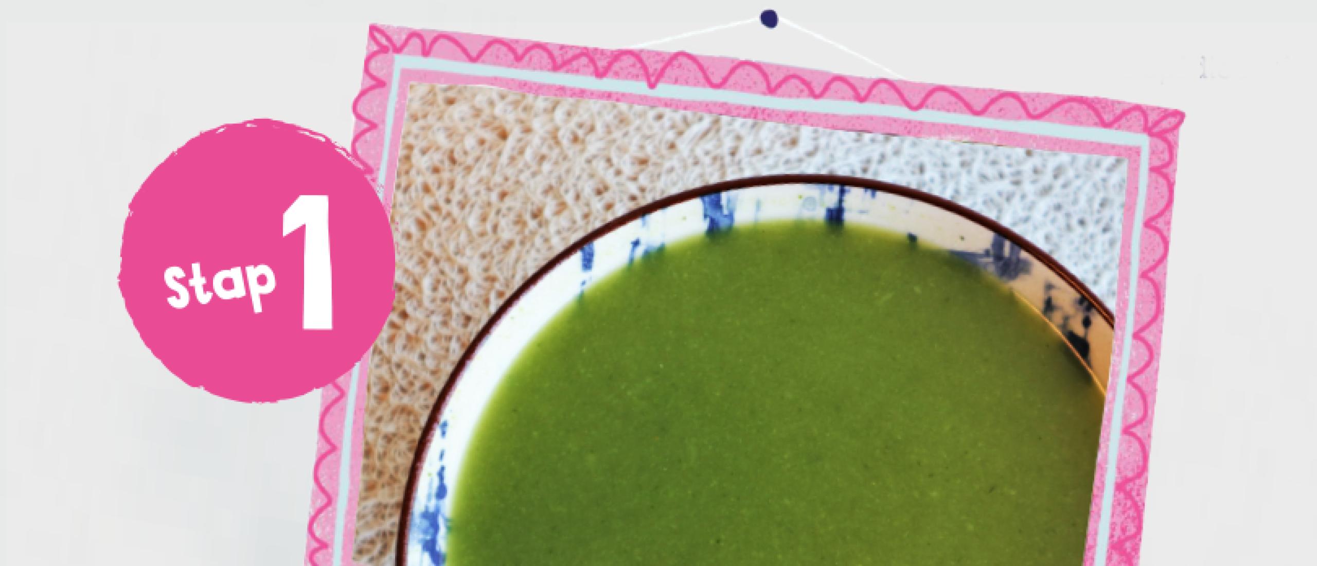 Broccolisoep (stap 1)