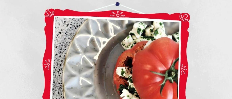 Gevulde tomaat recept van stap 1