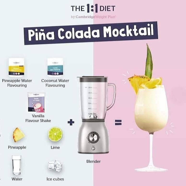 Pina Colada Cocktaoil drankmix
