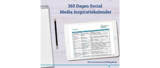 365 dagen Social Media Inspiratiekalender