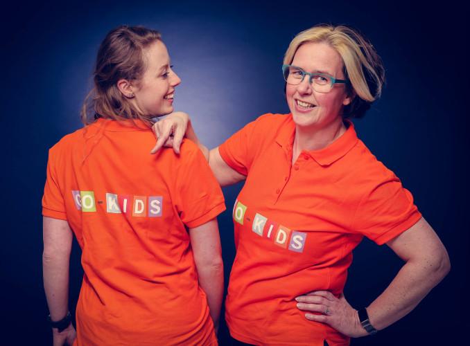 Nadine en Anneke van Go-Kids