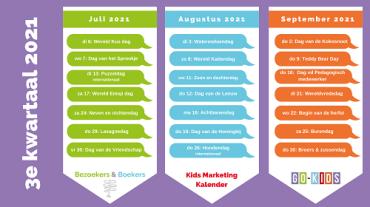 Kids Marketing Kalender Q3 2021