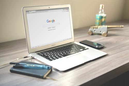Zoeken op internet via Google