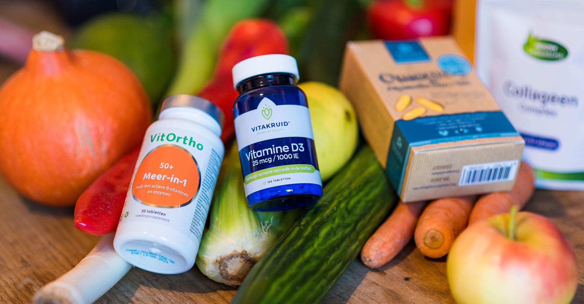 Supplementen en voedingsplan vrouwen overgang