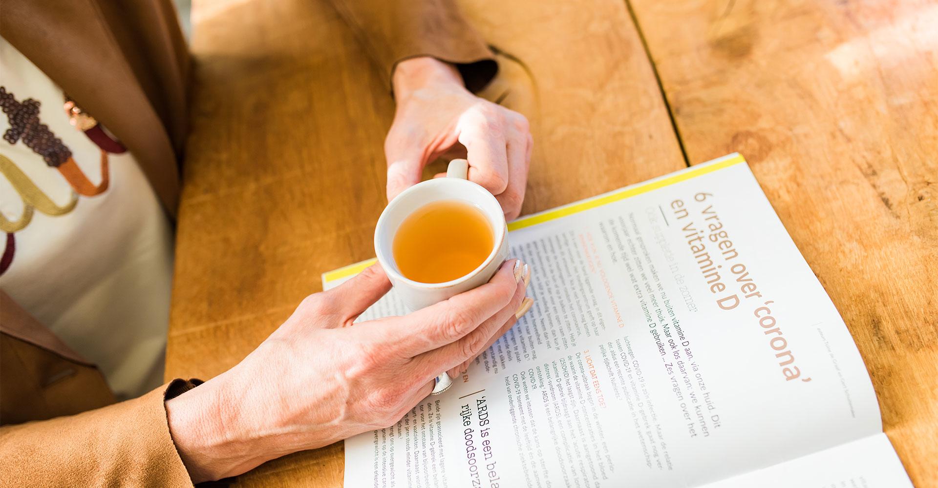 Vrouwen menopauze: begeleiding bij voeding