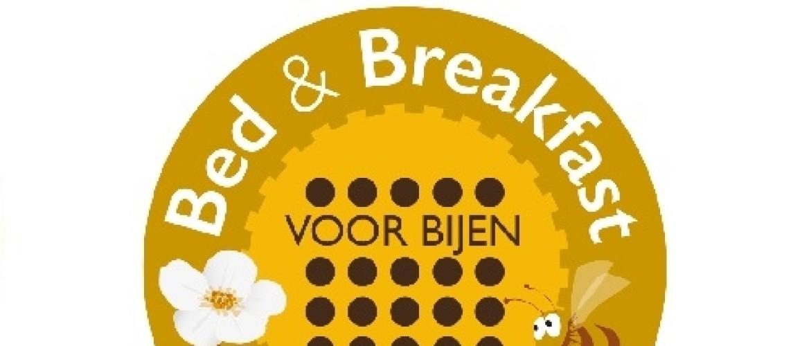 Harm Edens opent eerste Bed & Breakfast voor Bijen.