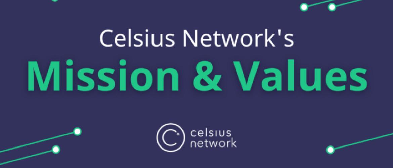 De missie en waarden van Celsius Network