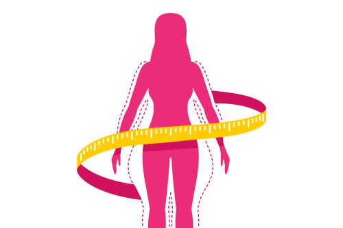 Afvallen en slank blijven