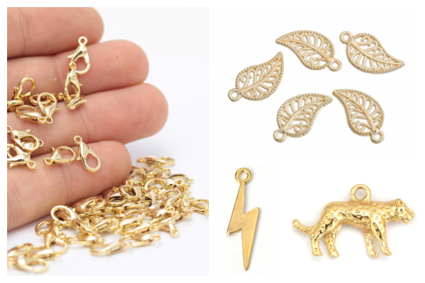 Gold plated items
