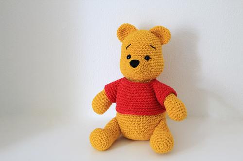 Haakpatroon Winnie the Pooh