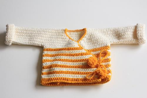 Haakpatroon Baby Kimono