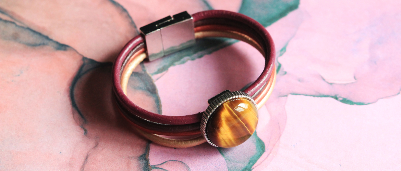Hoe Maak je een Armband van Leer met Magneetsluiting?