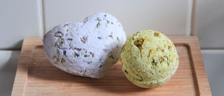 Beauty Blog: Lavendel & Kamille Bad Bruisballen Maken