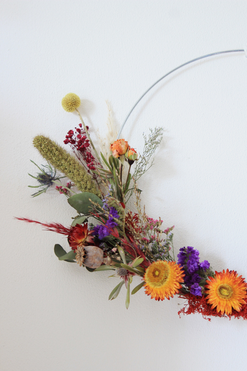 DIY Pakket Droogbloemen Krans 4