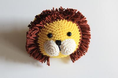 Haakpatronen dierenhoofdjes leeuw 1