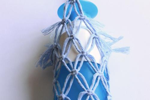 Macramé Bottle Bag stap10