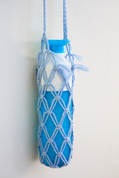 Macramé Bottle Bag stap12
