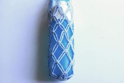 Macramé Bottle Bag stap9