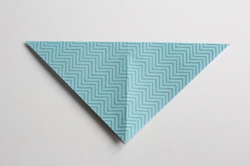 Origami Kerstbal stap2