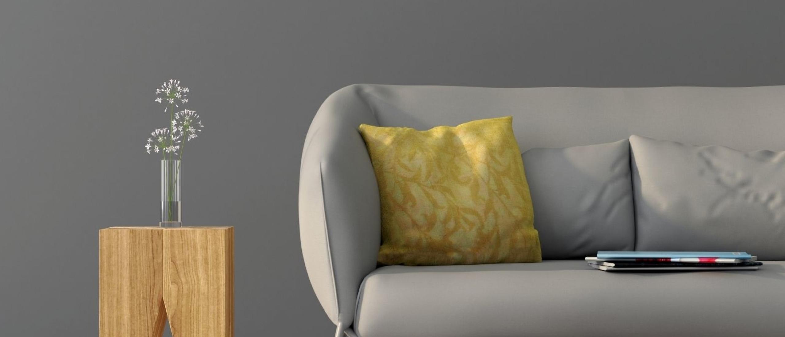 Welke kleur past bij een grijs interieur?