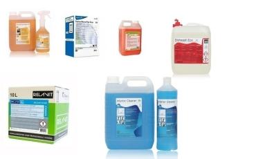alle reinigingsmiddelen