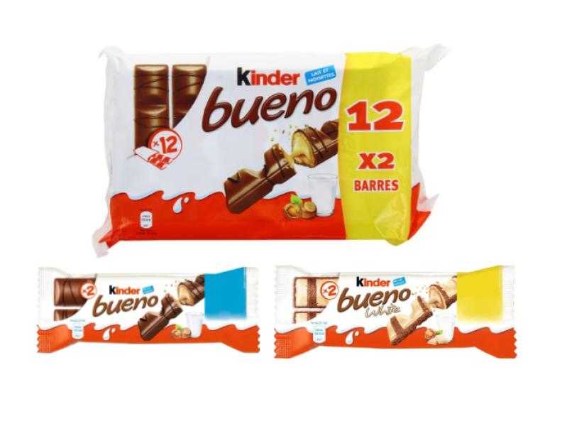 BninaFood trade and distribution - Kinder Bueno