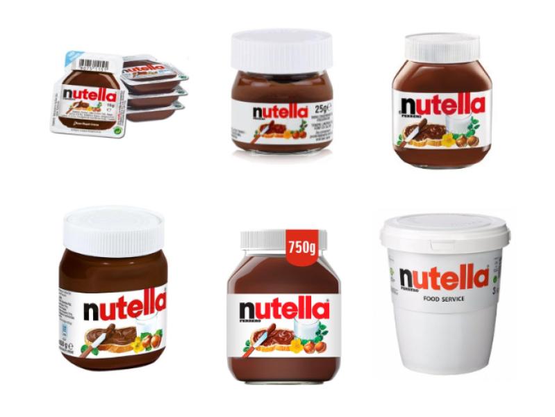BninaFood trade and distribution - Nutella