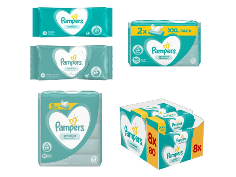 BninaFood trade and distribution - Pampers