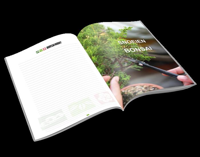 Cursusboek beginnen met bonsai