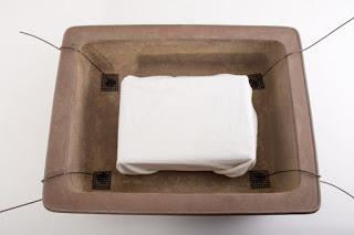 Vastzetten wortelkluit vierkante schaal