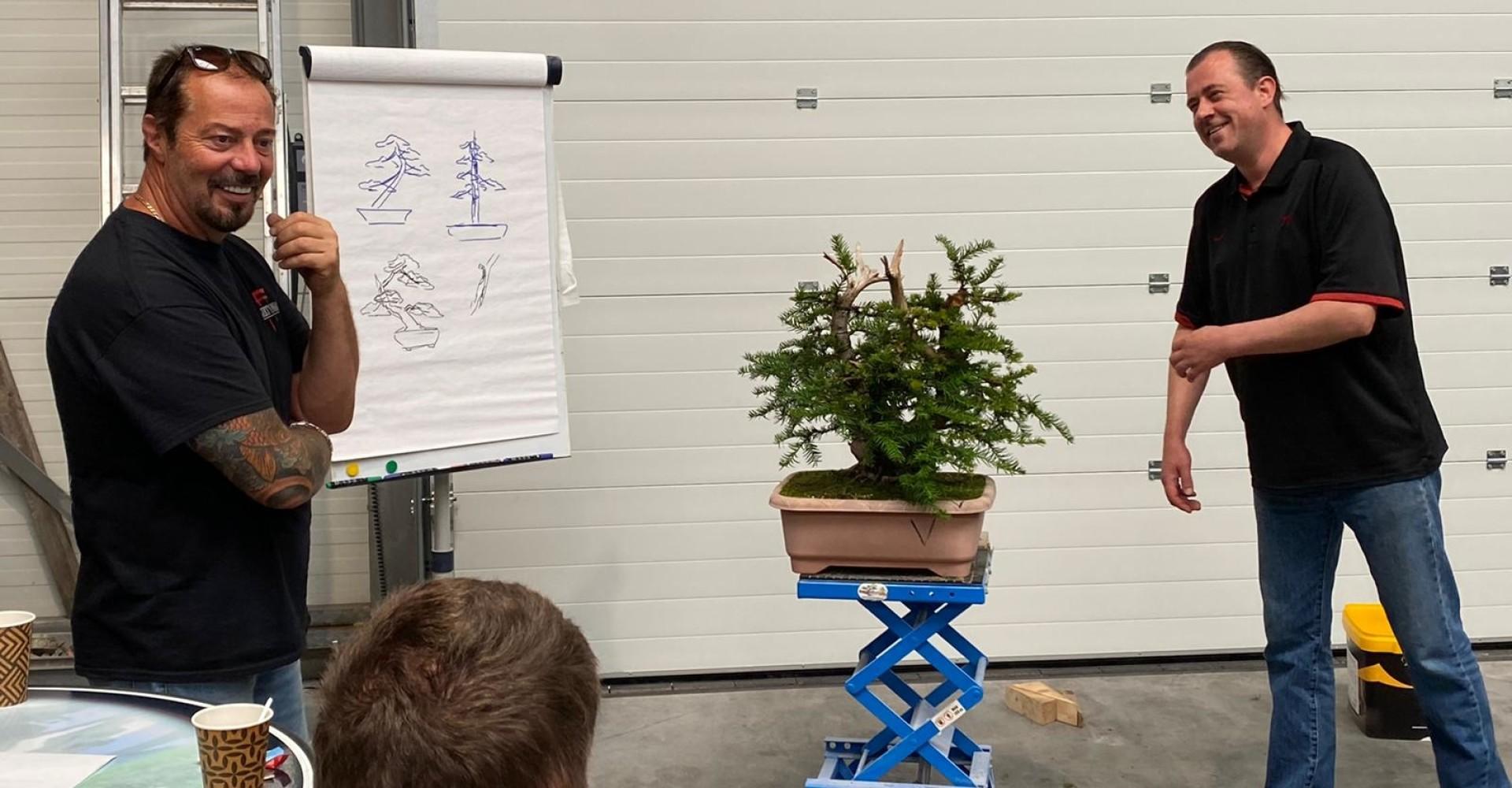Bonsai workshop Marc Noelanders
