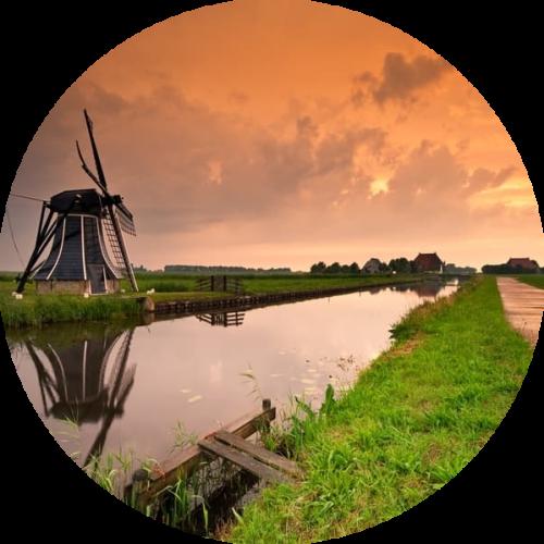 Groepsaccommodatie Friesland Molen