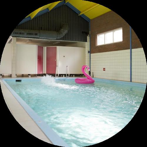 Groepsaccommodatie 30 personen met zwembad