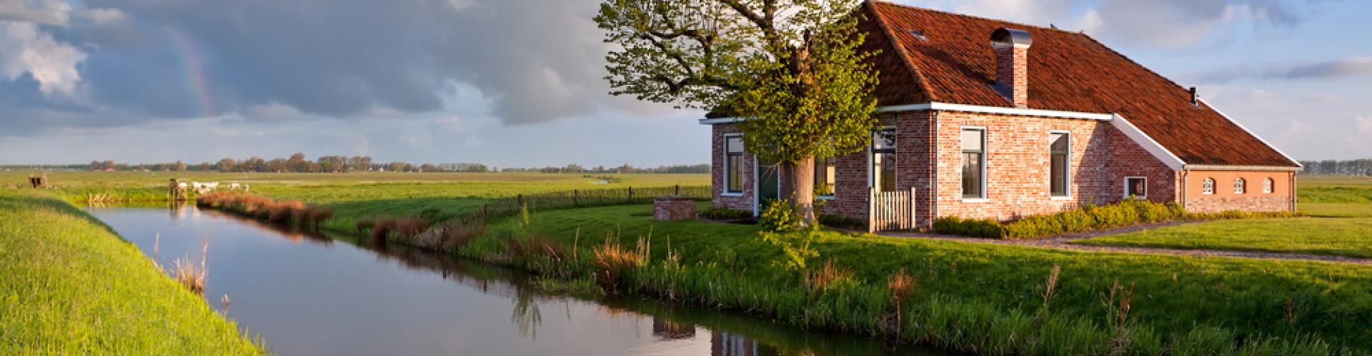 Groepsaccommodaties in de provincie Groningen, natuur