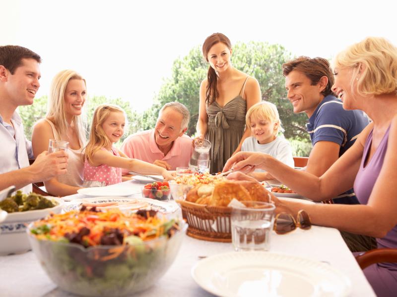 gezellig ontspannend weekendje weg met familie