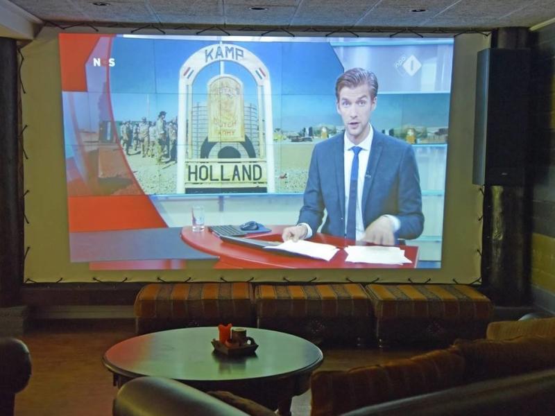 Groepsaccommodatie Elsloo Friesland met Bioscoop
