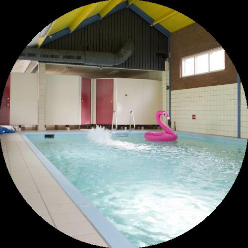 Groepsaccommodatie met prive zwembad