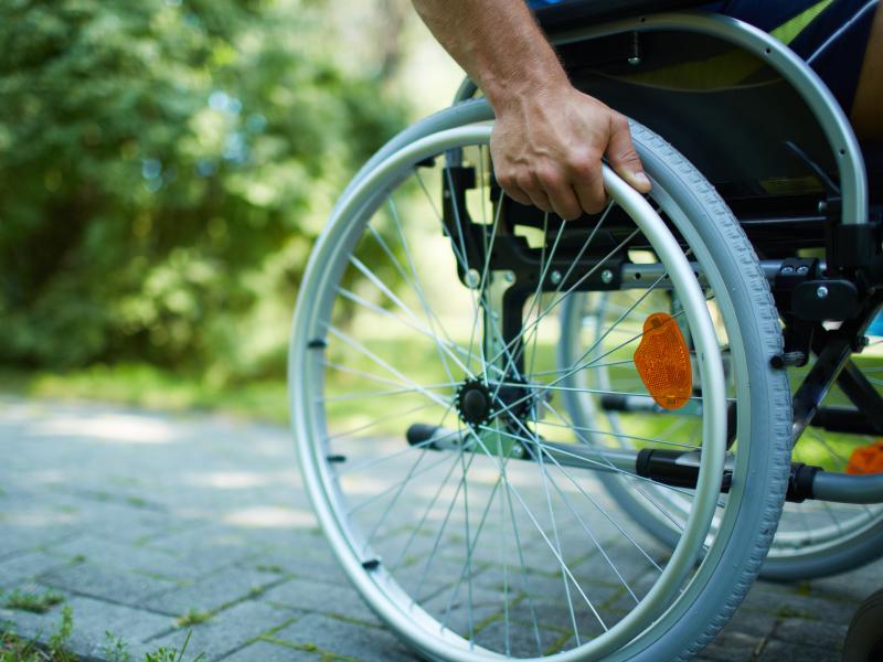 grote groepsaccommodatie voor ouderen of invaliden