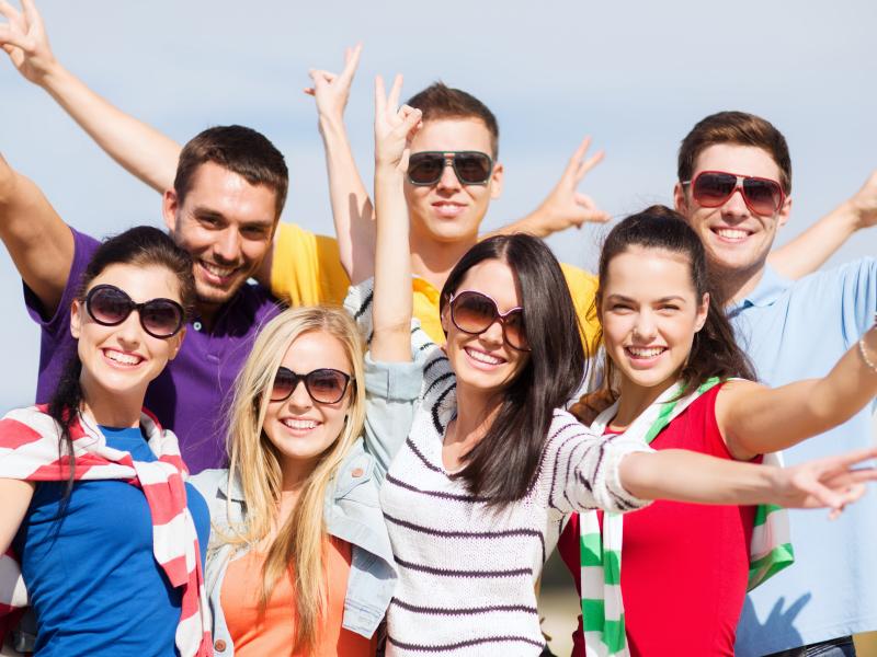 weekendje weg met studentengroep