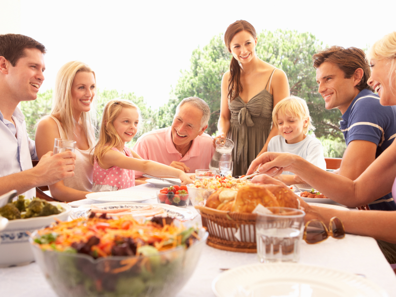 weekendje weg met familie