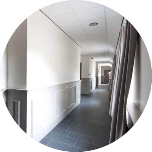 groepsaccommodaties voor zorggroepen met veel ruimte