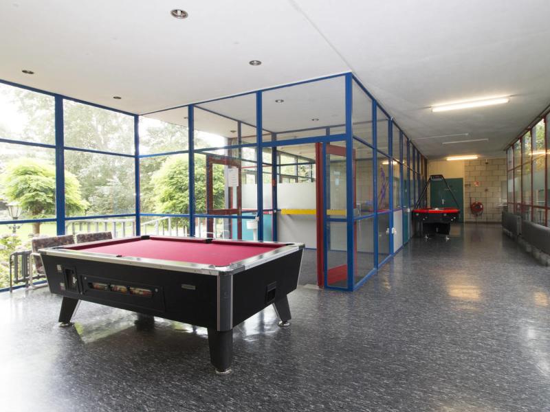 Groepsaccommodaties voor schoolkampen met binnen activiteiten